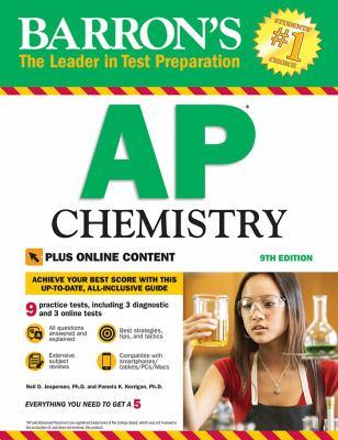 Barron's AP chemistry by Jespersen, Neil D.,