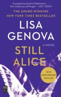 Still Alice : a novel