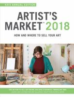 Artist's market 2018 : how and where to sell your art