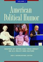 American Political Humor