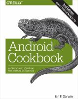Android cookbook : problems and solutions for Android developers