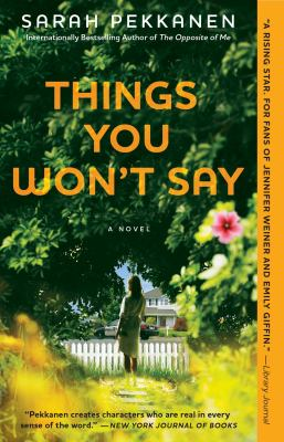 Things you won't say [book club set] : a novel