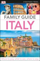 Family guide. Italy