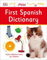 First Spanish dictionary.
