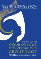 Courageous conversations about race : a field guide for achieving equity in schools