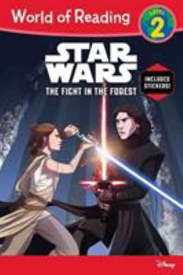 Star wars.   The fight in the forest
