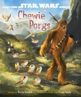 Star Wars. Chewie and the porgs