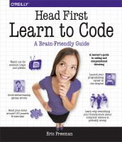 Head first learn to code : a brain-friendly guide