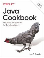 Java cookbook : problems and solutions for Java developers
