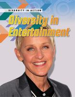 Diversity in entertainment