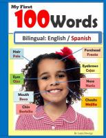 My first 100 words : bilingual : English / Spanish