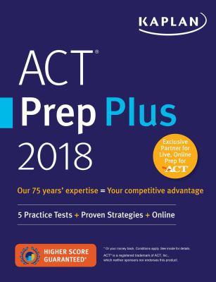 ACT prep plus 2018.