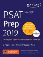 PSAT/NMSQT prep 2019.