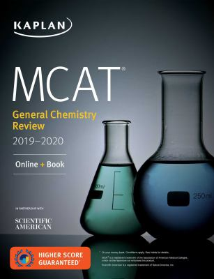 MCAT general chemistry review 2019-2020 by