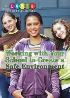 Working with your school to create a safe environment