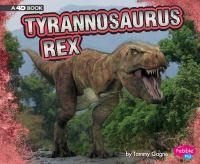 Tyrannosaurus rex : a 4D book