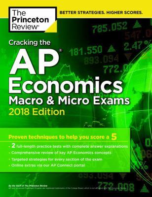 Cracking the AP.   Economics macro & micro exams 2018
