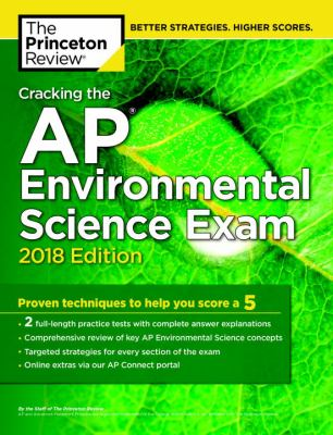 Cracking the AP.   Environmental science exam 2018
