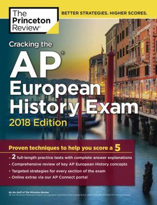 Cracking the AP.   European history exam 2018