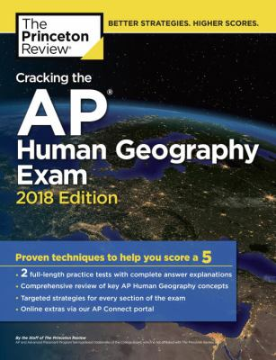 Cracking the AP.   Human geography exam 2018
