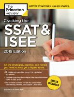 Cracking the SSAT & ISEE by