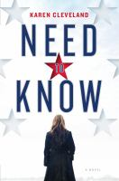 Need to know : a novel