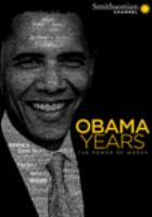 The Obama years : the power of words