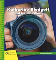 Katharine Blodgett and invisible glass