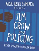 Jim Crow and policing