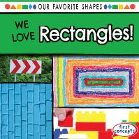 We love rectangles!