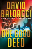One good deed by Baldacci, David,