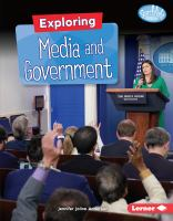 Exploring media and government by Anderson, Jennifer Joline,