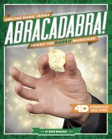 Abracadabra! : tricks for rookie magicians