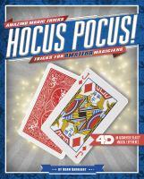 Hocus pocus! : tricks for amateur magicians