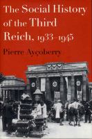 The Social History of the Third Reich