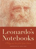 Leonardo's notebooks : writing and art of the great master