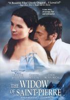 Widow of Saint-Pierre