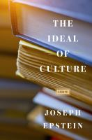 The ideal of culture : essays