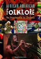 African American folklore : an encyclopedia for students