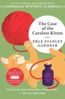 The case of the careless kitten by Gardner, Erle Stanley,
