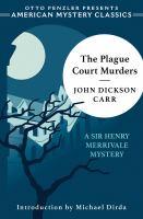 The Plague Court Murders