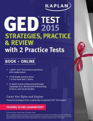 GED test 2015 :