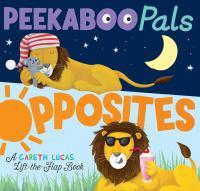 Peekaboo pals : opposites