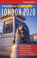 Frommer's 2020 Easyguide to London