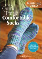 Knit a quick pair of comfortable socks