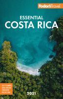 Fodor's Essential 2021 Costa Rica