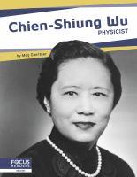 Chien-shiung Wu : physicist