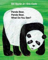 Panda Bear, Panda Bear, what do you see