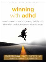 Winning with ADHD : a playbook for teens & young adults with attention deficit/hyperactivity disorder