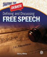 Defining and discussing free speech by Mihaly, Christy,